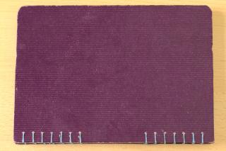 První svázaný zápisník